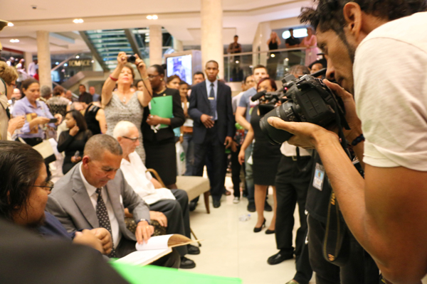 Angelo Bissessarsingh Book Signing