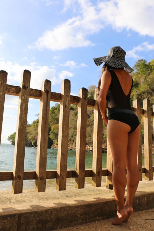Beach monokini